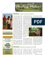 Planting Malawi - December Newsletter