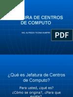 Jefatura de Centros de Computo