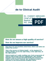 Guide to Clinical Audit