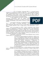 Reflexos das alterações na LOAS para concessão de BPC à pessoa deficiente