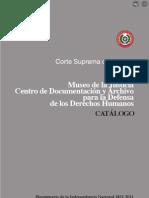 CATÁLOGO - Museo de Justicia - Documentación y Archivo para la Defensa de los Derechos Humanos - Paraguay - PortalGuarani