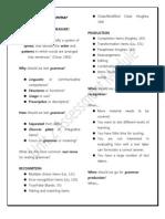 Testing Grammar (Unit 2)