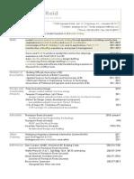 S.reid Resume Materials Testing 2012