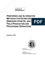 Methods for Estimating Air Emission From Oil and Gas Field Production and Processing Operations