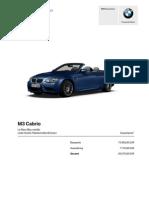 m3 cabby gr