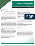 Rehab Compliance Bulletin 2012 Q2