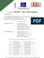 Programma Blsd Retraining 2009
