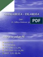 PREEKLAMSIA – EKLAMSIA