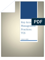 Key Account Management Practices in TCS