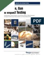 PCB Piezo Explosive Gun Impact Sensors