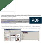 DocuPen RC800 Colour Calibration Procedure