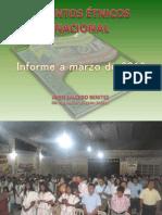 Informe a Marzo 2012