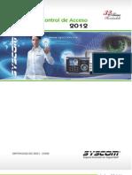 Catálogo de Control de Acceso 2012