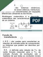 MM- CAP 03- MODELAGEM E FUNÇÃO DE TRANSFERENCIA