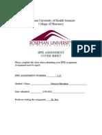 Bension Mirzakan - IPPE Assignment 1.13
