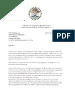 Contreras Letter 1