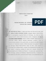 Escritura personería Pablo Escobar