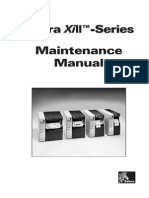 Zebra Printer Z90 XiII, 140 XiII, 170 XiII, 220 XiII Parts & Service