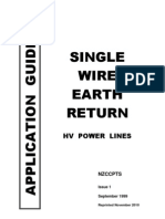 Single Wire Earth Return Application Guide