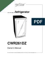 Es Cwr261dz Manual