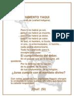 Juramento Yaqui