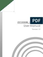 ZXV10 H108L User Manual