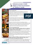 Food Environment Fact Sheet 2011