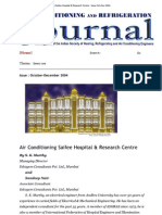 Air Conditioning Saifee Hospital & Research Centre - Issue Oct-Dec 2004