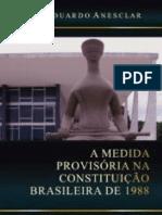 A Medida Provisória na Constituição Brasileira de 1988