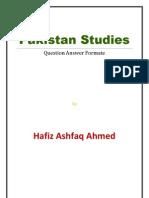 Pakistan Studies Complete Notes (Question Answer Format