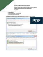 Instalacion de Microsoft Dynamics GP10 y Actualizacion de SP5