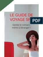 Guide de Voyage SFR