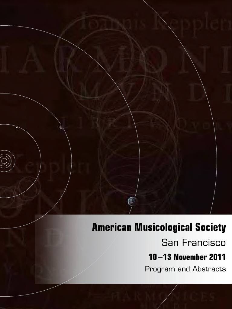 Ams san francisco 2011 final abstracts orchestras opera fandeluxe Image collections