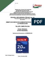 Análisis de Objeto Técnico La Memoria Sd