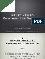 Leis Da Engenharia de Software