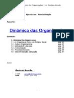 DINÂMICA ORGANIZACIONAL