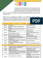 CalendaritoFestivo 2012