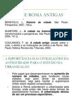 Geografia Urbana - Aula 3 - Gr%c9cia e Roma Antigas