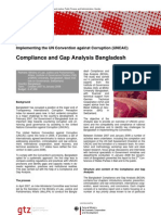 Bangla GAP Analysis GtZ Factsheet