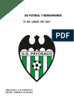 III Benjamines Futbol Base