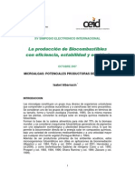 Microalgas les Product or As de Biodiesel