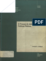 El Proceso de Elaboracion de Politicas Publicas