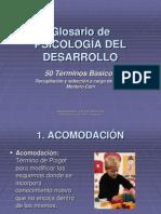 001 Glosario de Terminos Psicologia Del Desarrollo Pps