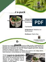 Presentación  Robot e-puck