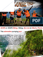 Inca Jungle Trek 2013