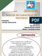 Índices Cp, Cpk y Cpm