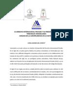 El Derecho Internacional Privado y Su Presencia en Los Tri Bun Ales Venezolanos