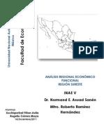 Regionalización INAE