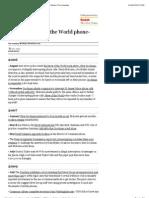 Timeline-news of the World Scandal