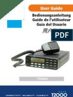 Tait 2000 Radio Manual